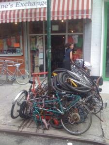 Abandoned Bike Orgy